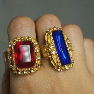 Statement Huge Bling Rings